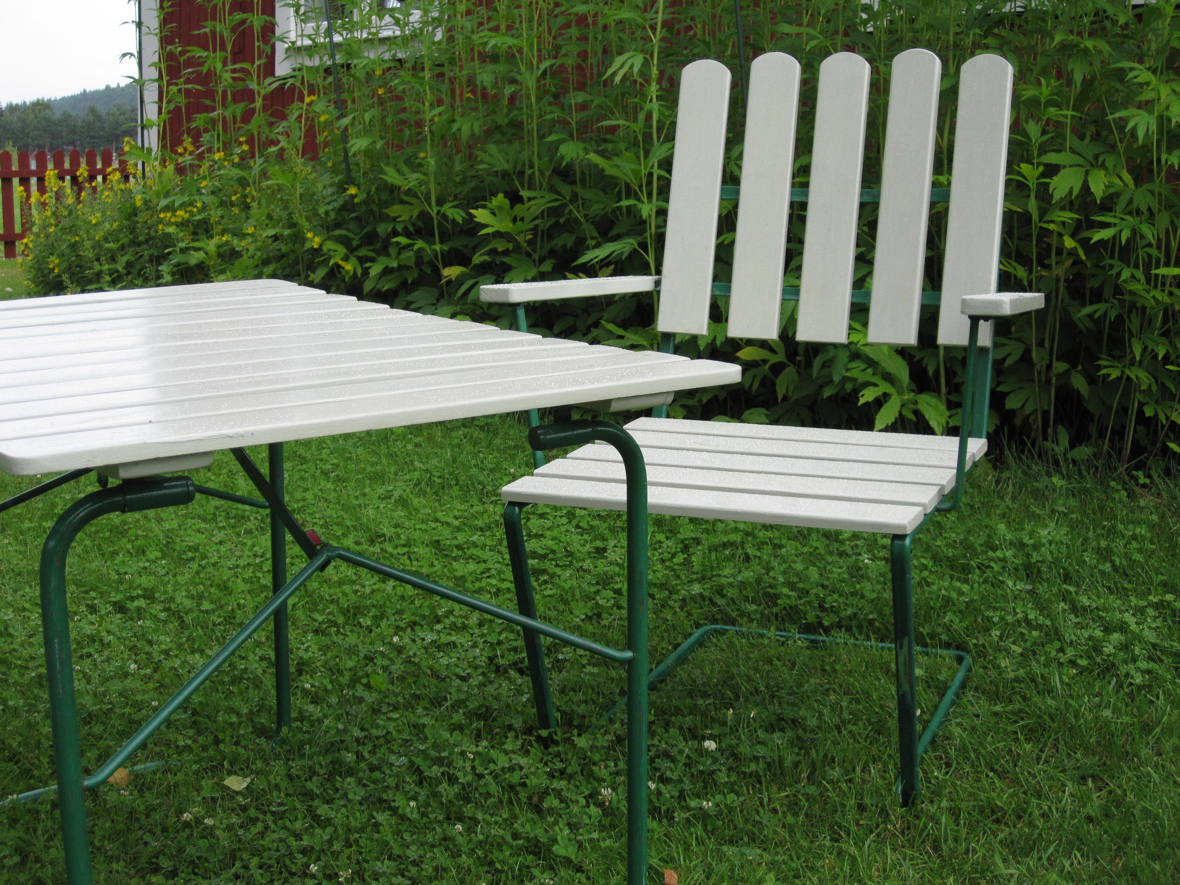 Grythyttan stol och bord