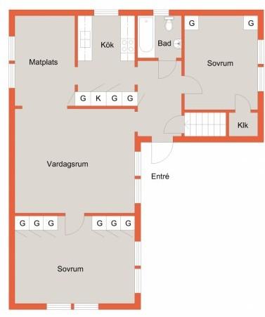 Planritning - från Wallenberg Fastighetsförmedling