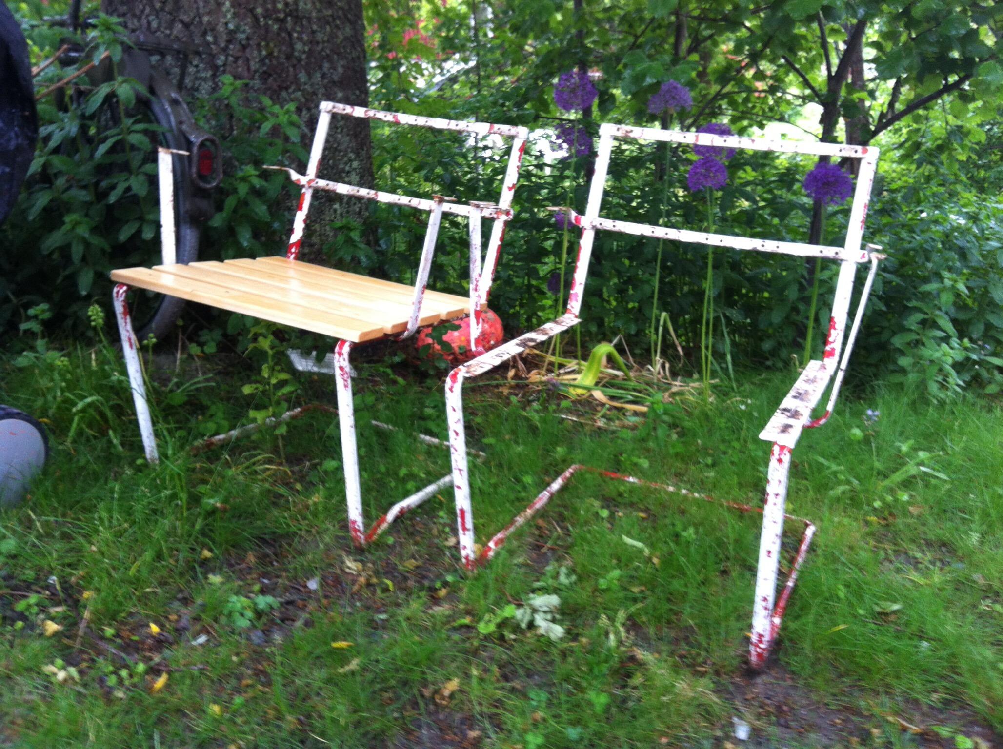 Nya stolar på gång Vinkelboden